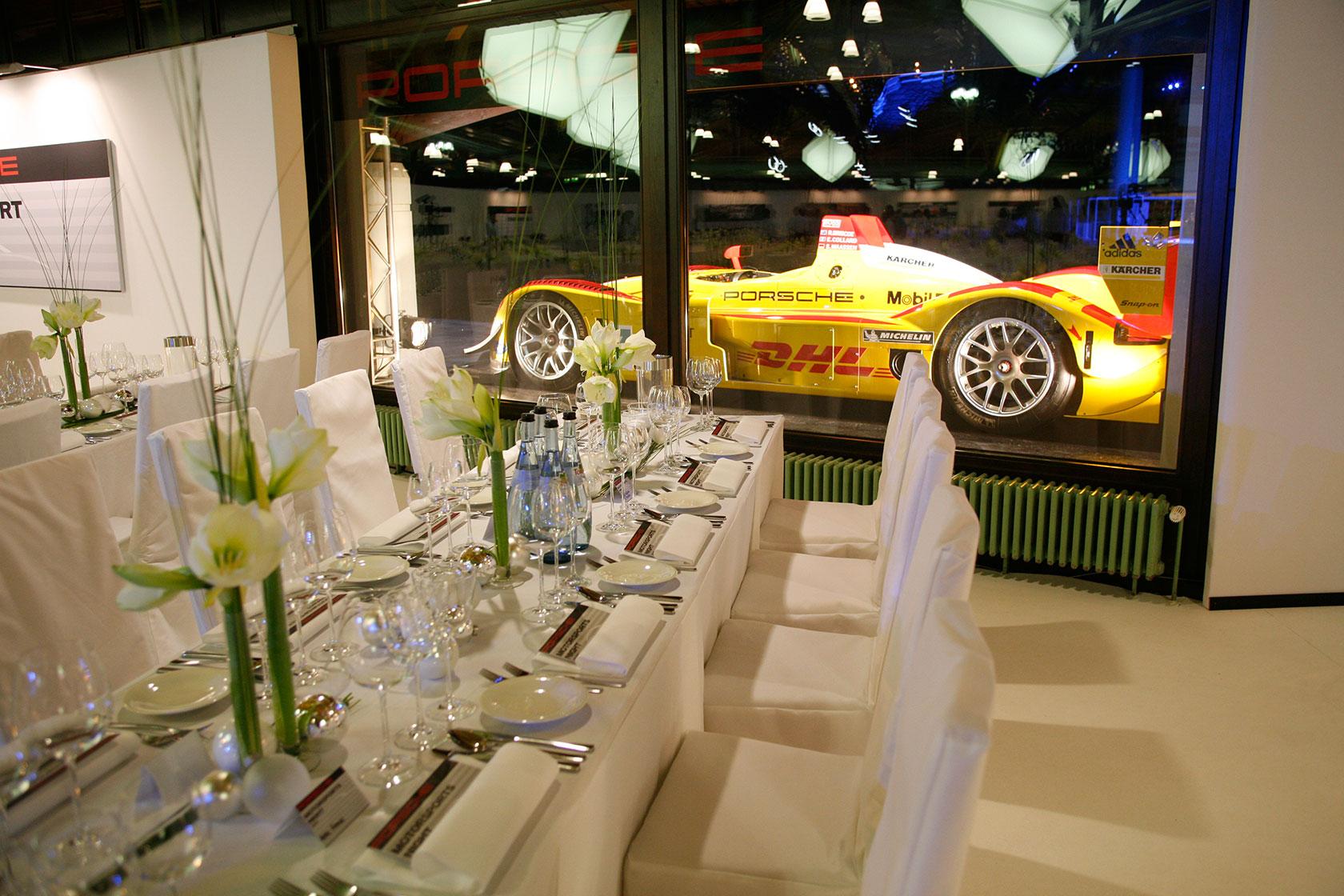 Wir geben Gas für Porsche